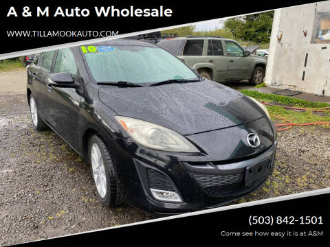 2010 Mazda MAZDA3 for sale at A & M Auto Wholesale in Tillamook OR