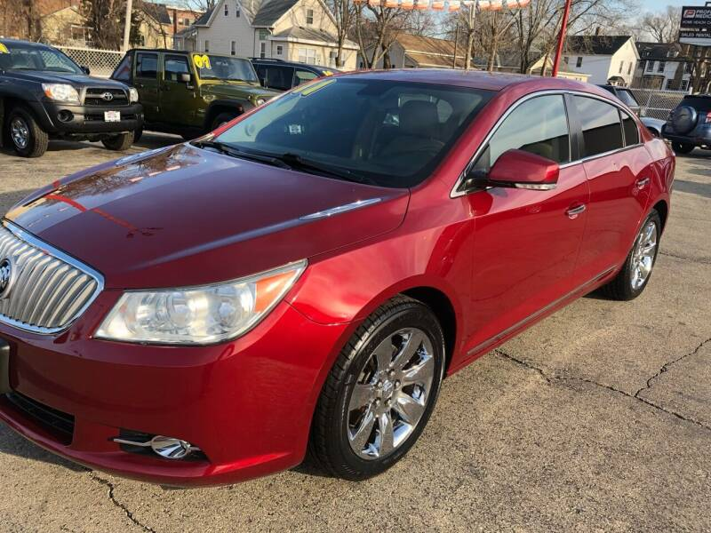 2011 Buick LaCrosse for sale at Bibian Brothers Auto Sales & Service in Joliet IL