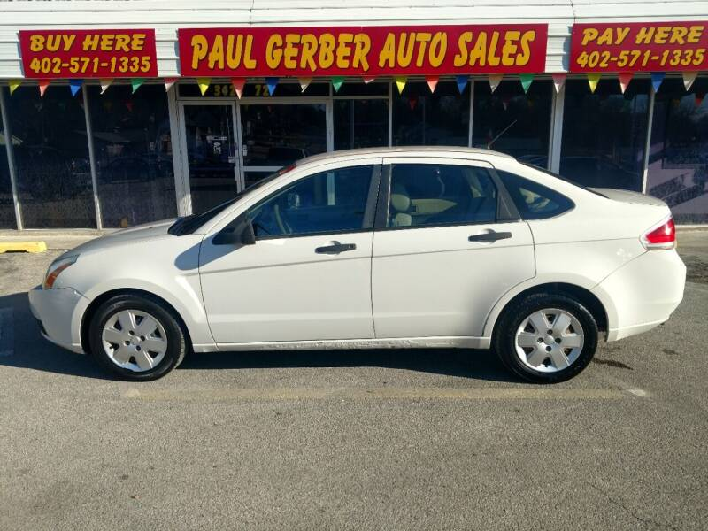 2011 Ford Focus for sale at Paul Gerber Auto Sales in Omaha NE