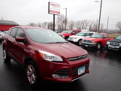 2016 Ford Escape for sale at Marty's Auto Sales in Savage MN
