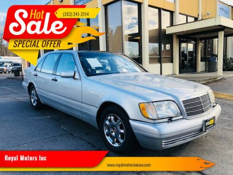 1998 Mercedes-Benz S-Class for sale at Royal Motors Inc in Kent WA