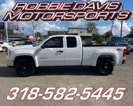 2010 GMC Sierra 1500 for sale at Robbie Davis Motorsports in Monroe LA