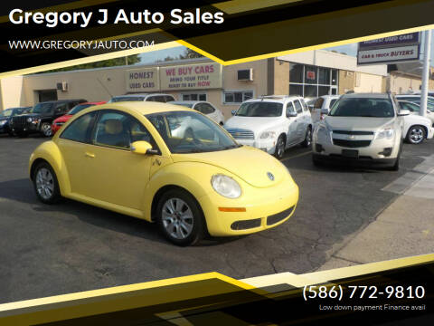 2008 Volkswagen New Beetle for sale at Gregory J Auto Sales in Roseville MI