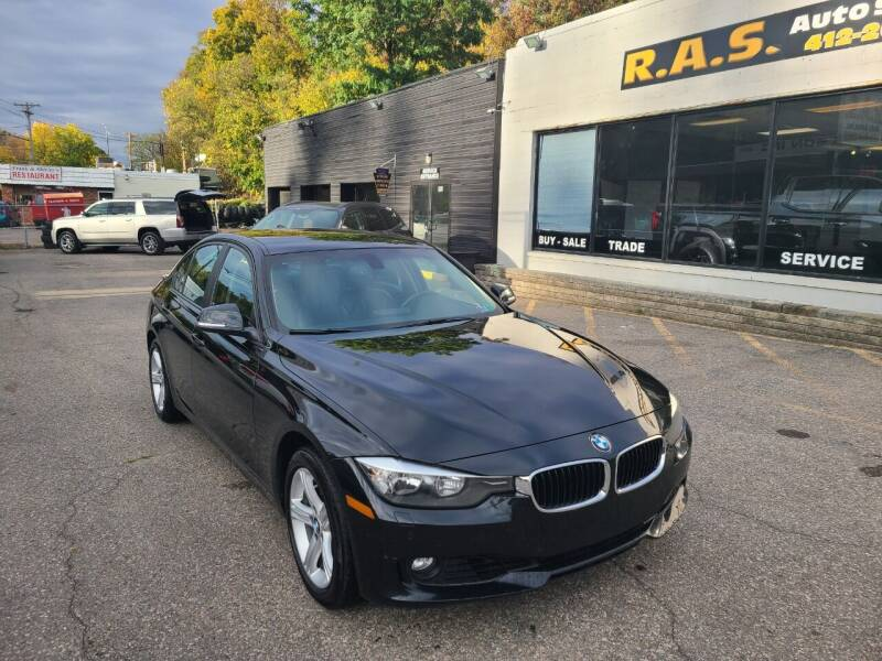 2013 BMW 3 Series for sale at R.A.S. Auto Sales Inc. in Pittsburgh PA