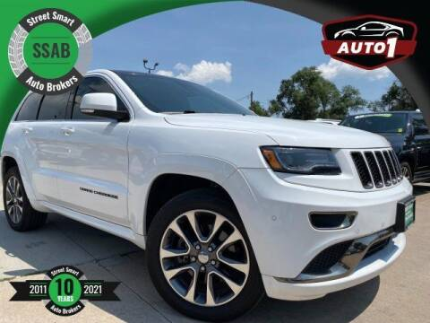 2016 Jeep Grand Cherokee for sale at Street Smart Auto Brokers in Colorado Springs CO