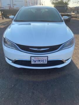 2015 Chrysler 200 for sale at Concord Auto Sales in El Cajon CA