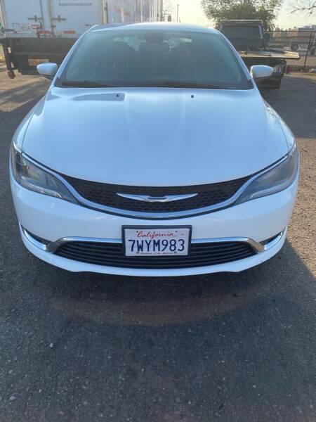 2015 Chrysler 200 for sale at Concord Auto Sales in El Cajon CA