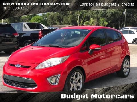 2012 Ford Fiesta for sale at Budget Motorcars in Tampa FL