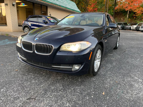 2012 BMW 5 Series for sale at Diana Rico LLC in Dalton GA