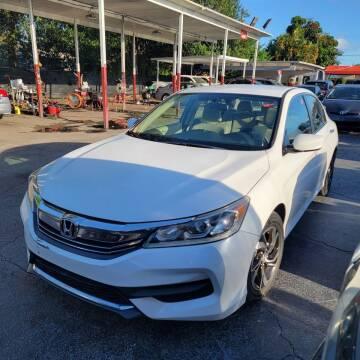 2017 Honda Accord for sale at America Auto Wholesale Inc in Miami FL