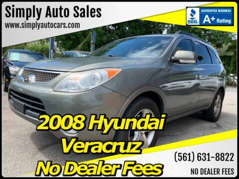 2008 Hyundai Veracruz for sale at Simply Auto Sales in Palm Beach Gardens FL