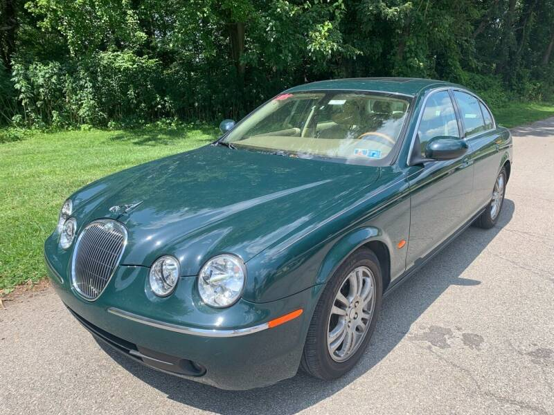 2005 Jaguar S-Type for sale at Trocci's Auto Sales in West Pittsburg PA