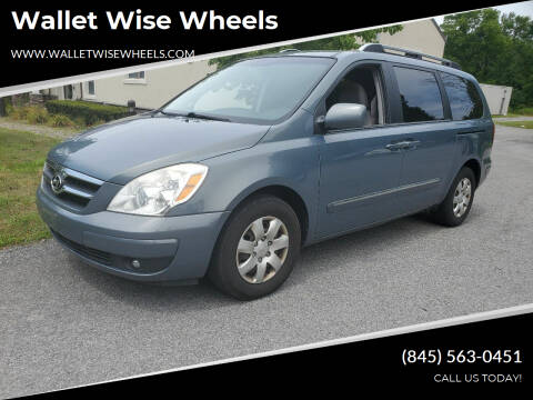2007 Hyundai Entourage for sale at Wallet Wise Wheels in Montgomery NY
