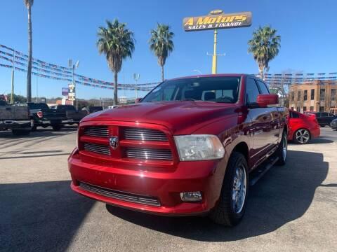 2012 RAM Ram Pickup 1500 for sale at A MOTORS SALES AND FINANCE - 10110 West Loop 1604 N in San Antonio TX