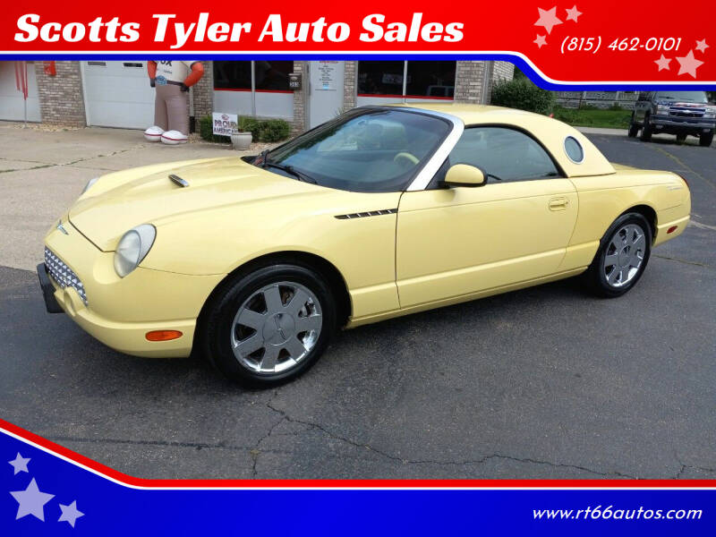 2002 Ford Thunderbird for sale at Scotts Tyler Auto Sales in Wilmington IL