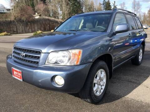 2003 Toyota Highlander for sale at Autos Only Burien in Burien WA