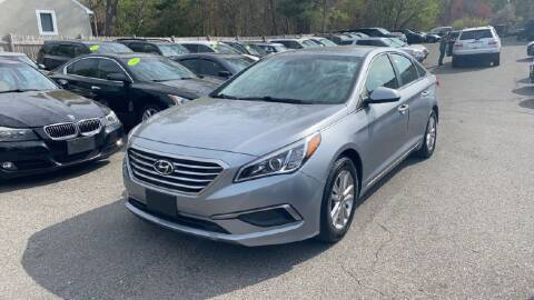 2017 Hyundai Sonata for sale at Lloyds Auto Sales & SVC in Sanford ME