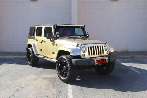 2016 Jeep Wrangler Unlimited for sale at El Patron Trucks in Norcross GA