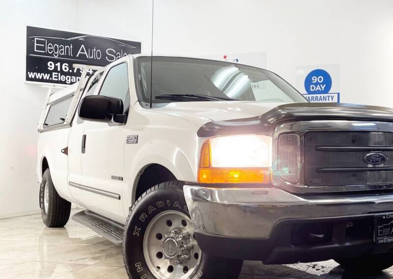 2000 Ford F-250 Super Duty for sale at Elegant Auto Sales in Rancho Cordova CA