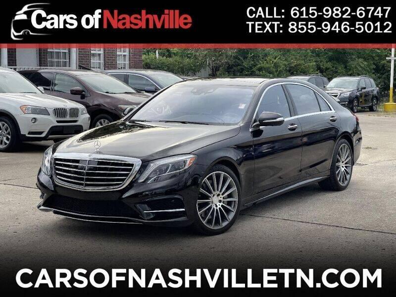2015 Mercedes-Benz S-Class for sale in Nashville, TN