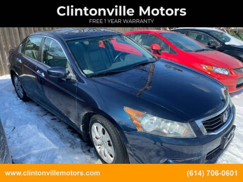 2010 Honda Accord for sale at Clintonville Motors in Columbus OH