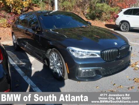 2019 BMW 7 Series for sale at Carol Benner @ BMW of South Atlanta in Union City GA