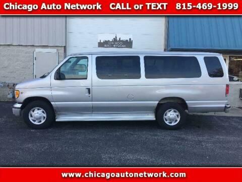 2002 Ford E-Series Wagon for sale at Chicago Auto Network in Mokena IL