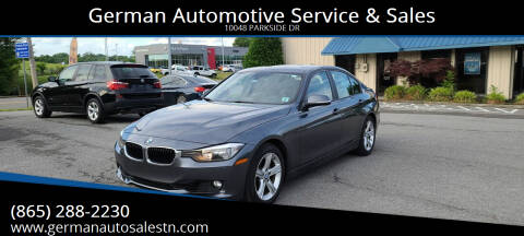 2014 BMW 3 Series for sale at German Automotive Service & Sales in Knoxville TN