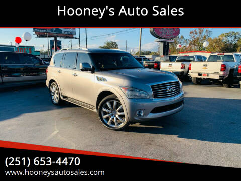 2013 Infiniti QX56 for sale at Hooney's Auto Sales in Theodore AL