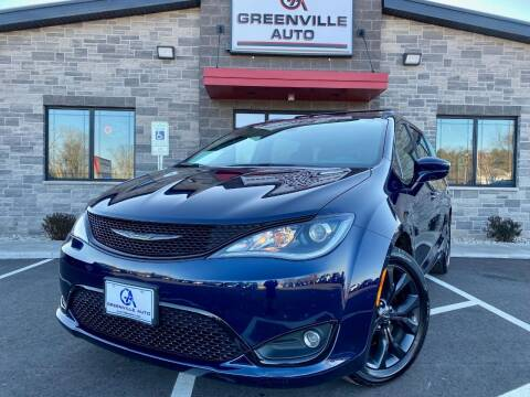 2018 Chrysler Pacifica for sale at GREENVILLE AUTO & RV in Greenville WI