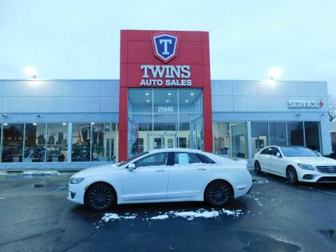 2017 Lincoln MKZ for sale at Twins Auto Sales Inc Redford 1 in Redford MI
