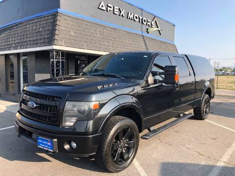2013 Ford F-150 for sale at Apex Motors in Murray UT