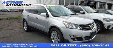 2014 Chevrolet Traverse for sale at Action Automotive Inc in Berlin CT