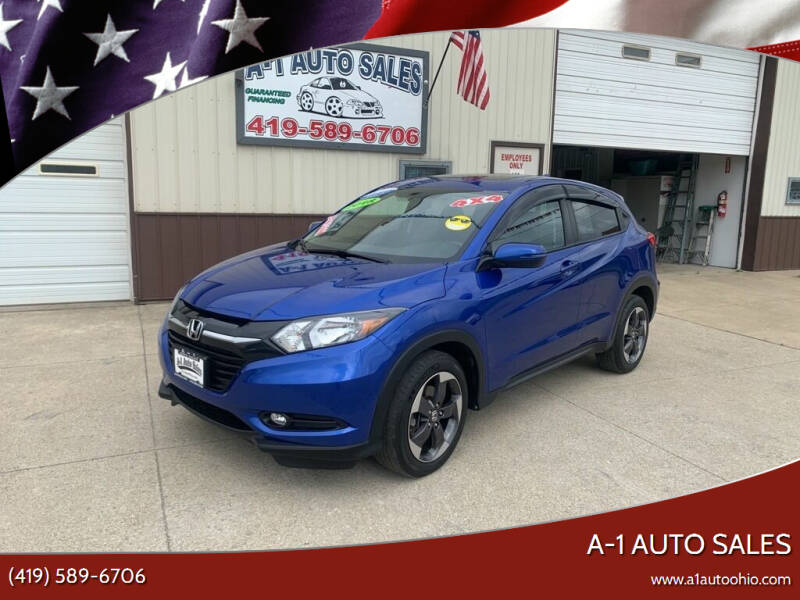 2018 Honda HR-V for sale at A-1 AUTO SALES in Mansfield OH