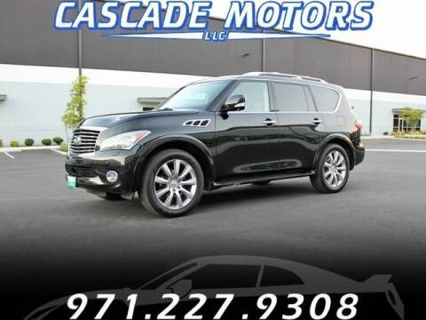 2012 Infiniti QX56 for sale at Cascade Motors in Portland OR