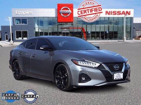 2019 Nissan Maxima for sale at EMPIRE LAKEWOOD NISSAN in Lakewood CO