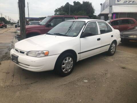 2000 Toyota Corolla for sale at AFFORDABLE USED CARS in Richmond VA