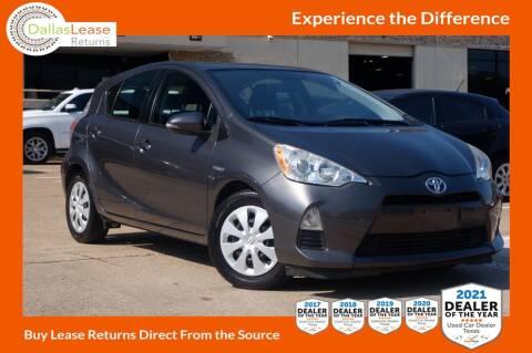 2013 Toyota Prius c for sale at Dallas Auto Finance in Dallas TX