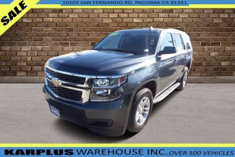 2020 Chevrolet Tahoe for sale at Karplus Warehouse in Pacoima CA