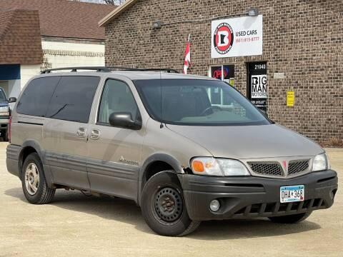 2002 Pontiac Montana for sale at Big Man Motors in Farmington MN
