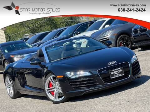 2012 Audi R8 for sale at Star Motor Sales in Downers Grove IL