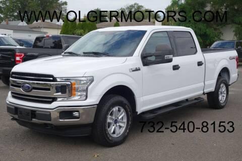 2018 Ford F-150 for sale at Olger Motors, Inc. in Woodbridge NJ