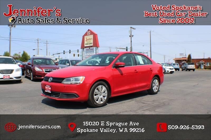 2013 Volkswagen Jetta for sale at Jennifer's Auto Sales in Spokane Valley WA