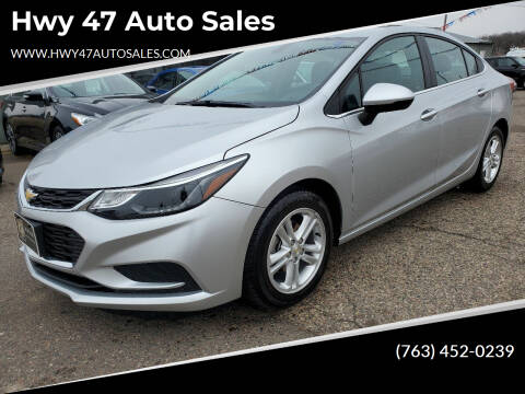 2017 Chevrolet Cruze for sale at Hwy 47 Auto Sales in Saint Francis MN