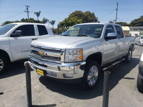 2013 Chevrolet Silverado 1500 for sale at L & M MOTORS in Santa Maria CA