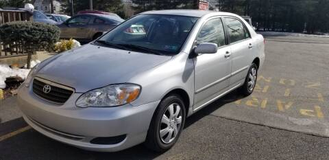 2006 Toyota Corolla for sale at Central Jersey Auto Trading in Jackson NJ
