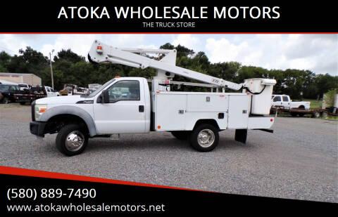 2011 Ford F-450 Super Duty for sale at ATOKA WHOLESALE MOTORS in Atoka OK