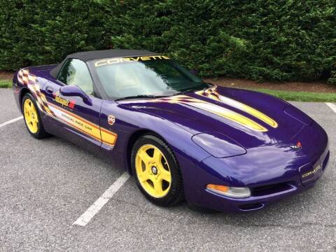 1998 Chevrolet Corvette for sale at Limitless Garage Inc. in Rockville MD
