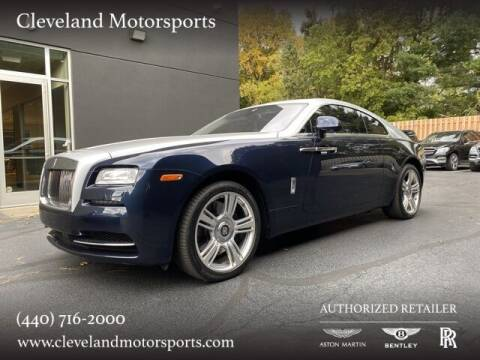 2015 Rolls-Royce Wraith for sale at Drive Options in North Olmsted OH