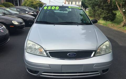 2007 Ford Focus for sale at BIRD'S AUTOMOTIVE & CUSTOMS in Ephrata PA